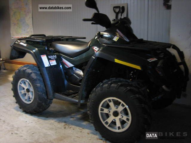 2008 Bombardier  Can the Outlander 800 EFI As new Motorcycle Quad photo