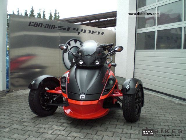 2011 Bombardier  Can-Am Spyder SE5 RS-S Motorcycle Trike photo