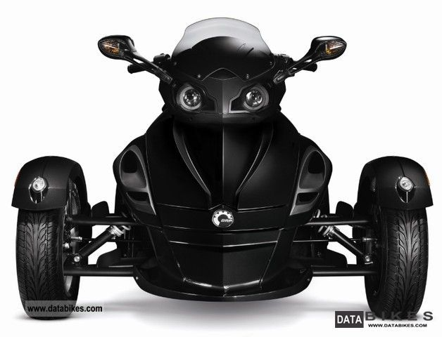 2011 Bombardier  BRP Can Am Spyder RS Motorcycle Motorcycle photo
