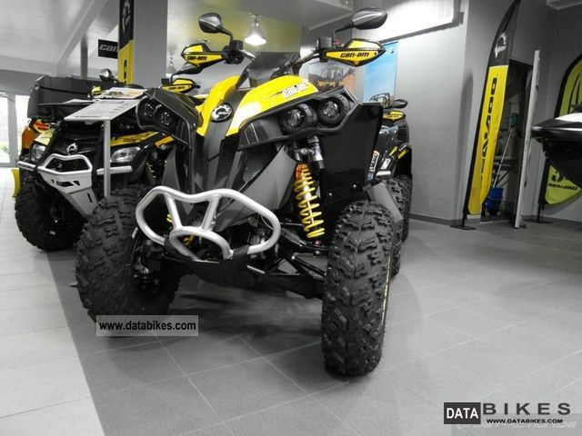 2011 Bombardier  BRP Can Am Renegade 1000 XXC Motorcycle Quad photo