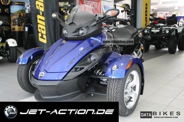 2011 Bombardier  BRP Can Am Spyder SE5 RS 2010 Motorcycle Motorcycle photo