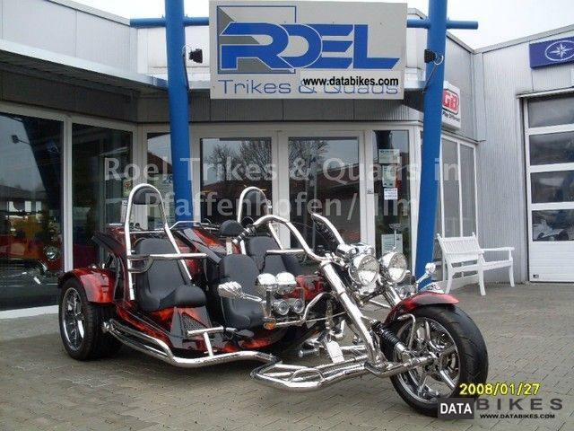 2011 Boom  Fighter X 12 Family 3 seater sellers Motorcycle Trike photo