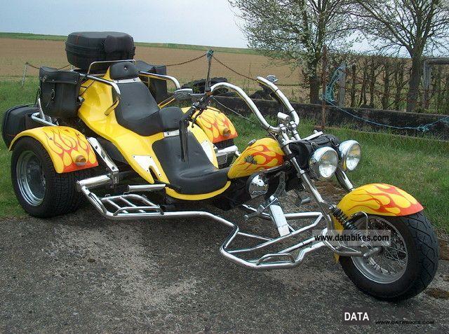 1998 Boom  * Trike TRIKE PORSCHE TYPE 4 * TOP * Motorcycle Trike photo