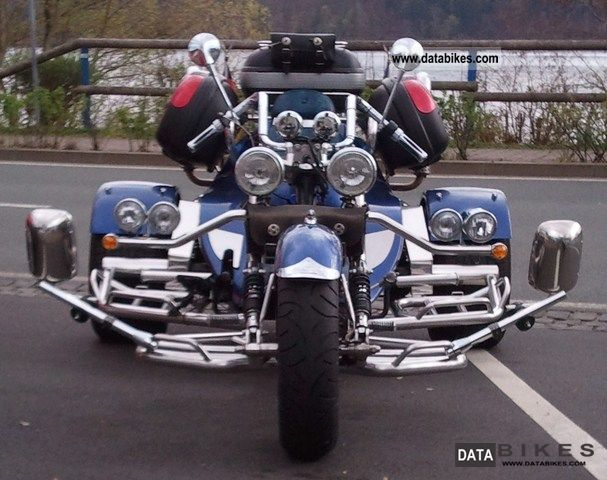 2001 Boom  Top Low - Rider 5i Large - Limited Edition Motorcycle Trike photo