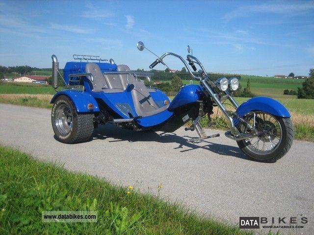 1998 Boom  Family Motorcycle Trike photo