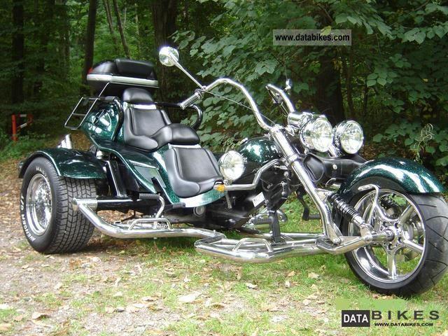2008 Boom  Chopper Motorcycle Trike photo