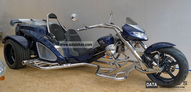 2011 Boom  BOOM ST1 Mustang Thunderbird Trike Motorcycle Trike photo