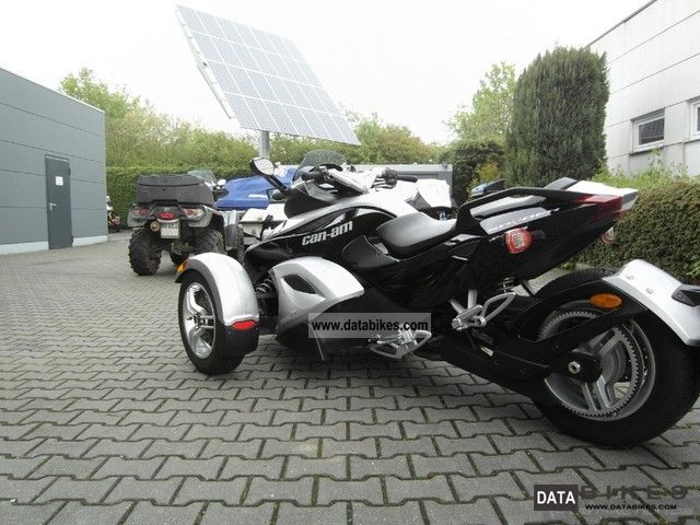 2008 BRP  RS Spyder SM5 customer order Motorcycle Motorcycle photo