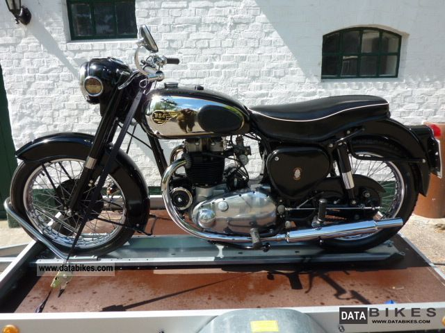 BSA  A10 Golden Flash 1955 Vintage, Classic and Old Bikes photo