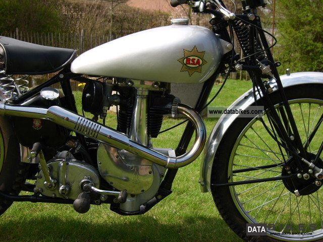 BSA  B 24 Silver Star, restored, very nice, 1938 1938 Vintage, Classic and Old Bikes photo