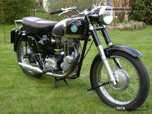 BSA  AJS 16 MS, 500 cc, runs smoothly, TÜV again, 1956 Vintage, Classic and Old Bikes photo