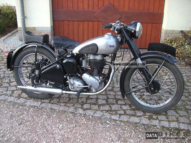 BSA  C 11 1947 Vintage, Classic and Old Bikes photo