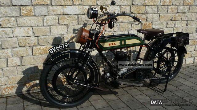 1919 BSA  4:25 K HP 1919 Motorcycle Motorcycle photo