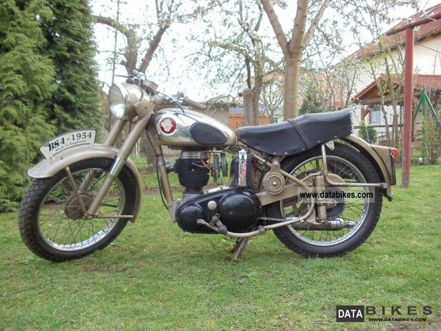 1954 BSA  C11G 250 OHV Motorcycle Motorcycle photo