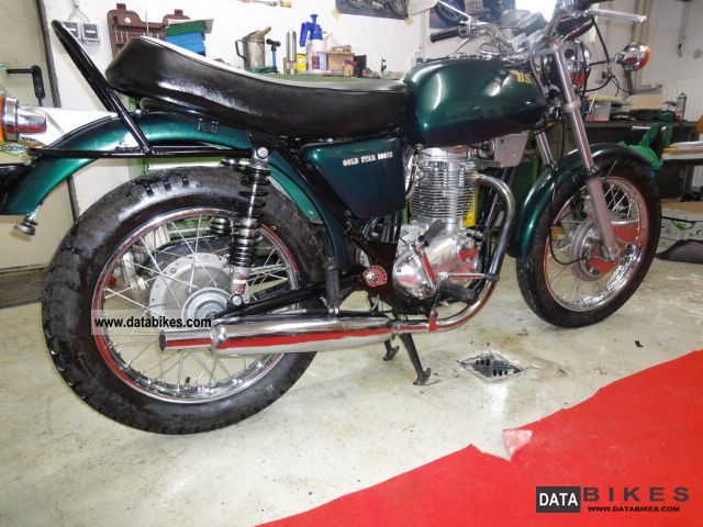 BSA  B50 SS Goldstar 1972 Vintage, Classic and Old Bikes photo