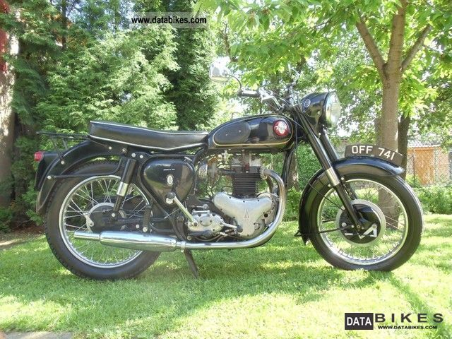 BSA  A10 Golden Flash 650 1955 Vintage, Classic and Old Bikes photo