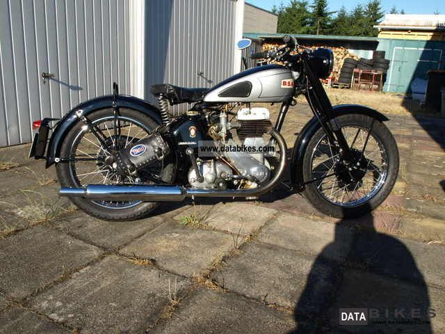 BSA  M20 1957 Vintage, Classic and Old Bikes photo
