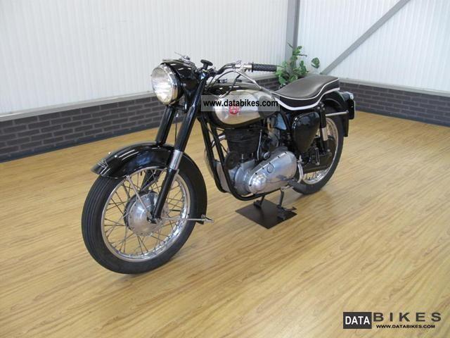 1955 BSA  B31 350cc Motorcycle Motorcycle photo