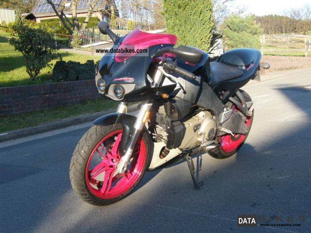 2007 Buell  Bold black and red XB12R Fire Motorcycle Sports/Super Sports Bike photo