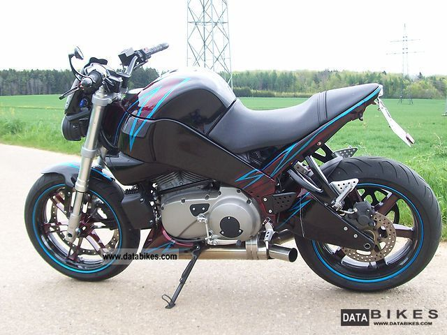 2005 Buell  XB12S Motorcycle Streetfighter photo
