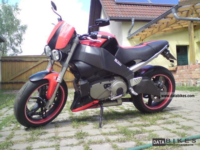 2008 Buell  xb 12 Motorcycle Streetfighter photo