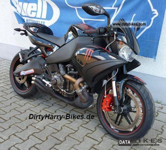 Buell  Buell 1125CR first black 148 hp 5728 km 2009 Sports/Super Sports Bike photo