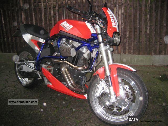 2001 Buell  X1 Motorcycle Naked Bike photo