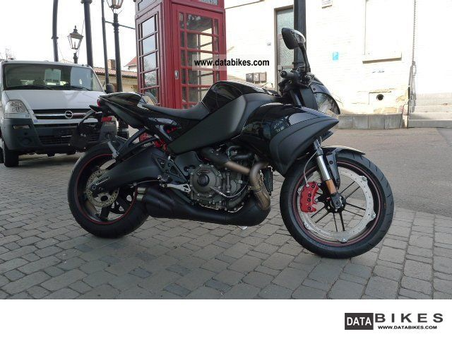 2010 Buell  1125 CR Motorcycle Streetfighter photo