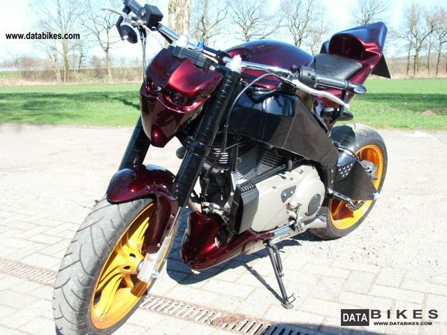 2006 Buell  XB12 Motorcycle Streetfighter photo