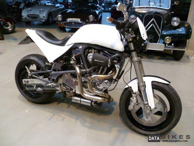 1999 Buell  White Lightning EB1 Motorcycle Naked Bike photo