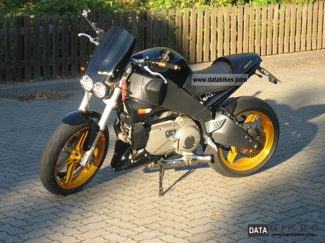 2003 Buell  XB12S Motorcycle Naked Bike photo