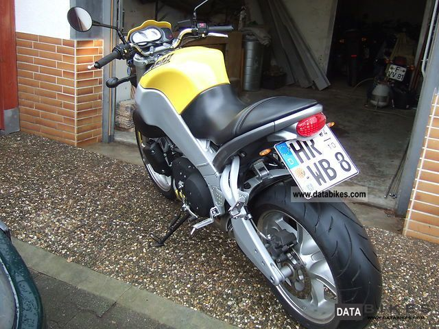 2002 Buell  XB9S Motorcycle Streetfighter photo