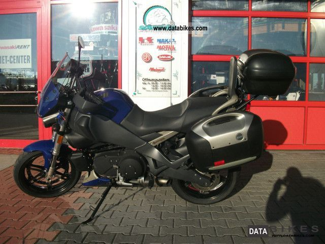 2010 Buell  XB12XT with luggage Motorcycle Tourer photo