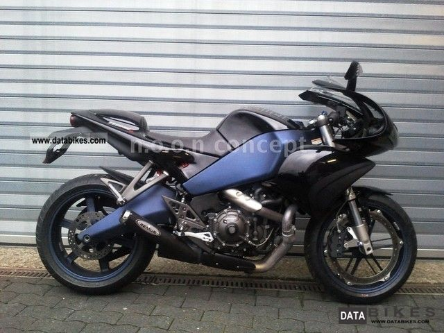 2008 Buell  1125 R Anniversary Signature Edition with REMUS Motorcycle Motorcycle photo
