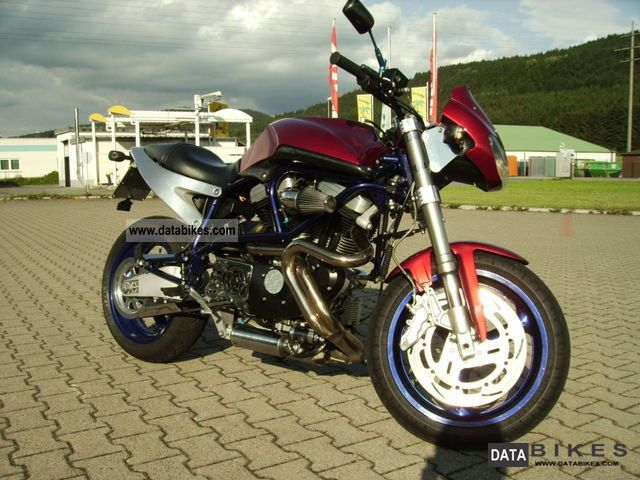 2002 Buell  X1 Lightning Street Fighter Motorcycle Motorcycle photo