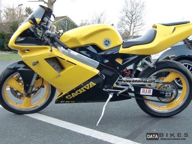 1996 Cagiva  Mito 125 80km / h special paint Motorcycle Lightweight Motorcycle/Motorbike photo
