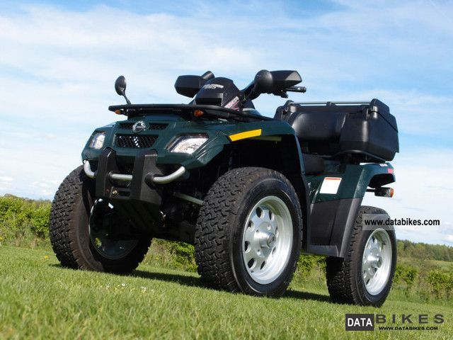2007 Can Am  OUTLANDER 650 - 1st HAND - LOF NEW FAST Motorcycle Quad photo
