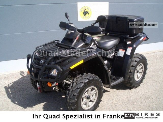 2009 Can Am  Outlander 650 XT Motorcycle Quad photo