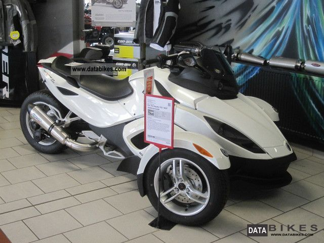 2011 Can Am  RS Spyder \ Motorcycle Trike photo