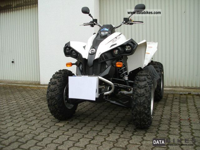 2012 Can Am  Renegade 500 4x4 demonstrator Motorcycle Quad photo