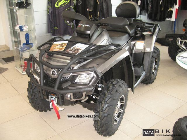 2011 Can Am  Outlander 800 Max LTD LOF approval Motorcycle Quad photo