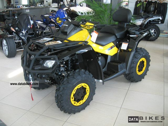 2011 Can Am  Outlander 650 Max XT with P-LOF-approval Motorcycle Quad photo