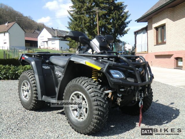 2009 Can Am  Outlander 800 XT 4x4 / LOF / 2 people. Motorcycle Quad photo
