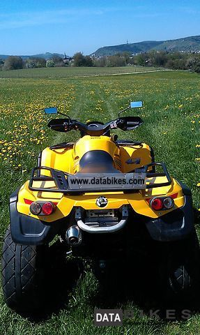 2006 Can Am  Outlander 800 XT Motorcycle Quad photo
