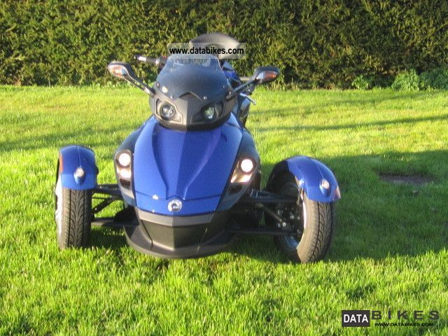 2008 Can Am  SPYDER SM 8787 KM TOPZUSTAND!! Motorcycle Motorcycle photo
