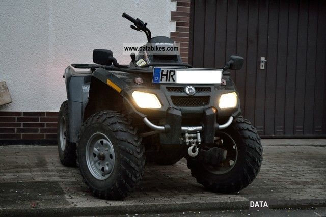2006 Can Am  outlander 800 LOF / 2persons approval Motorcycle Quad photo