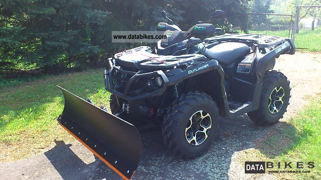 2011 Can Am  Outlander XT 1000 Motorcycle Quad photo