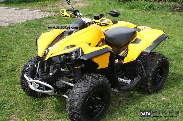 quad can am 500 renegade