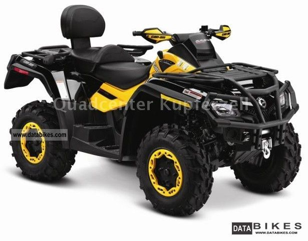 2011 Can Am  Outlander Max 650 XT-P Motorcycle Quad photo