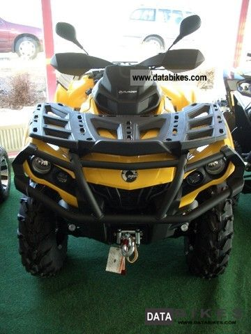 2011 Can Am  1000 Outlander XT Motorcycle Quad photo
